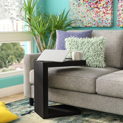Jess End Table Color: Black