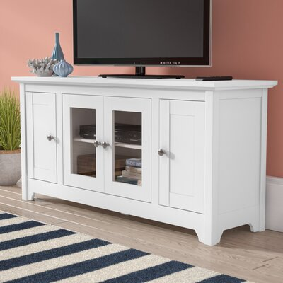 Verlie 53 TV Stand Color: White