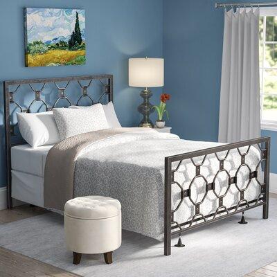 Leavitt Metal Panel Bed Size: Queen