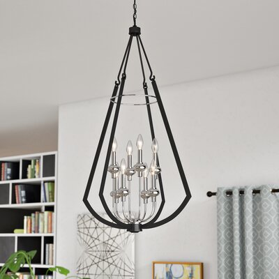 Luman 8-Light Foyer Pendant