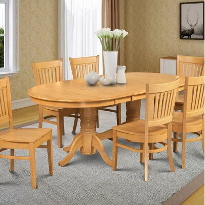 Varela Oval Dining Table Color: Oak