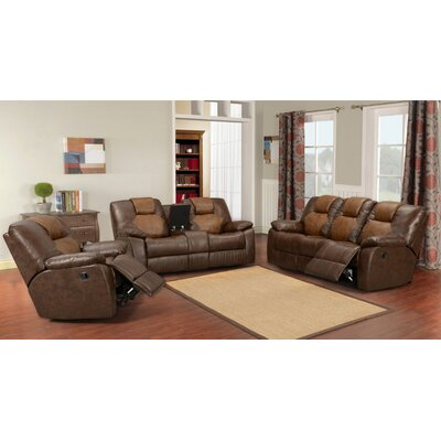 Ullman 3 Piece Living Room Set