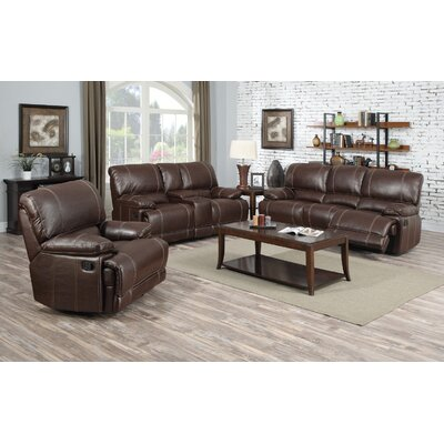 Ullrich 3 Piece Living Room Set