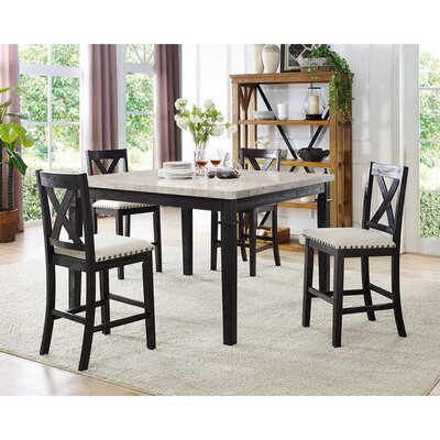 Hager 5 Piece Dining Set