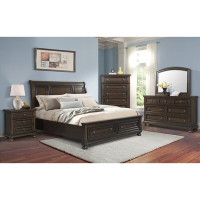 Guyton Platform 5 Piece Bedroom Set Bed Size: King