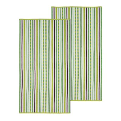 Stitch Beach Towel Color: Pear