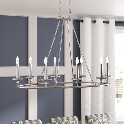 Chamberlain 8-Light Candle-Style Chandelier