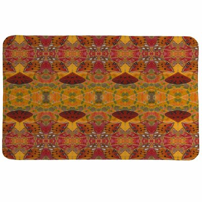 Eggleston Butterfly Memory Foam Bath Rug