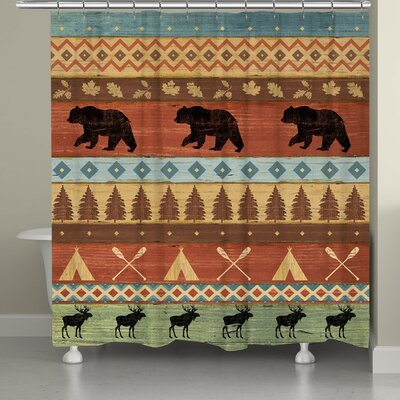 Ortegon Shower Curtain