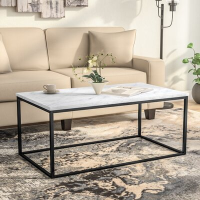 Arianna Coffee Table Color: Marble