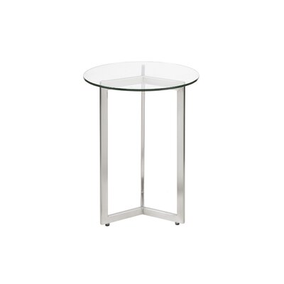 Son End Table Color: Silver