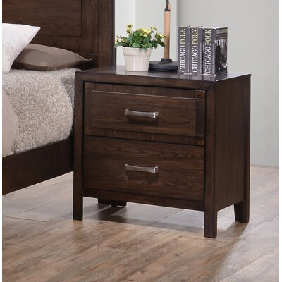 Willer 2 Drawer Nightstand