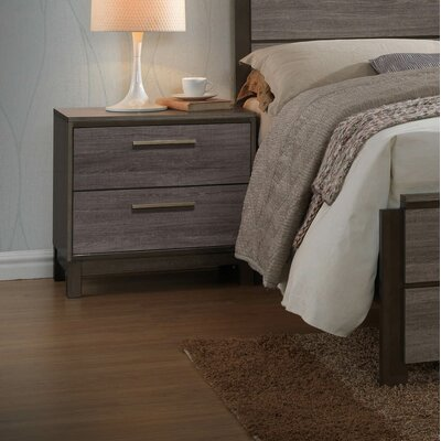 Leddy 2 Drawer Nightstand