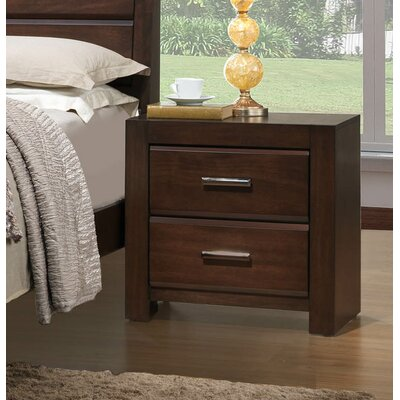 Stringham 2 Drawer Nightstand