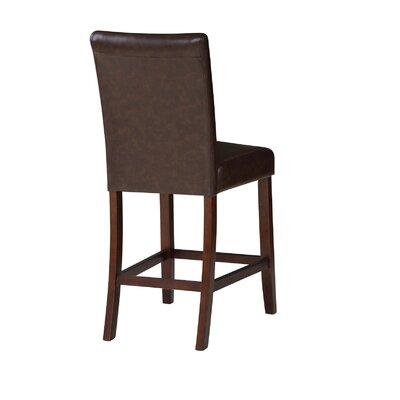 Tenggarong 24 Bar Stool Upholstery: Brown