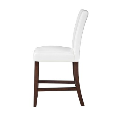 Tenggarong 24 Bar Stool Upholstery: White