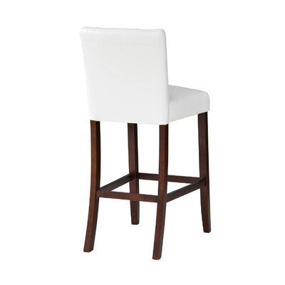 Tennison 30 Bar Stool Upholstery: White