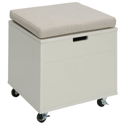 Traore Storage Ottoman Finish: London Gray