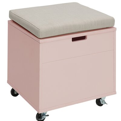 Traore Storage Ottoman Finish: New Pink