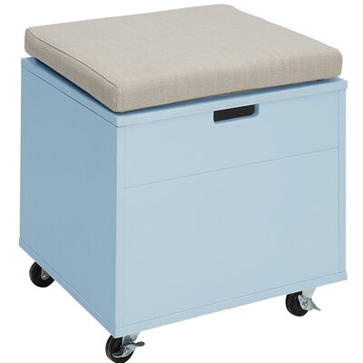 Traore Storage Ottoman Finish: Polar White