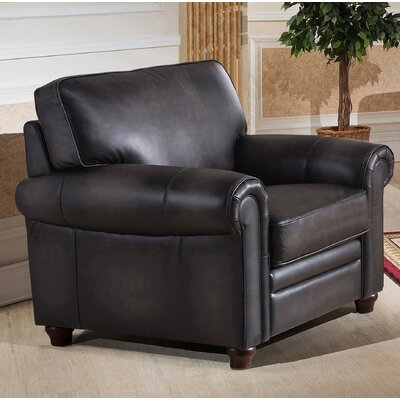 Barta Leather Club Chair