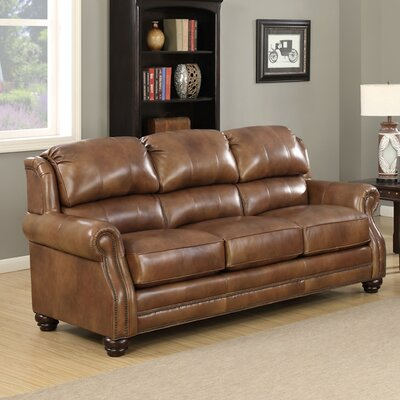 Blomus Wingback Leather Sofa
