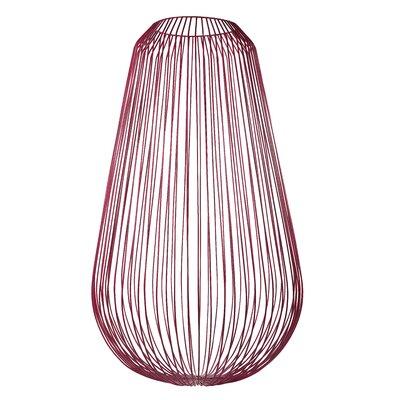 Corrie Iron Wire Floor Vase