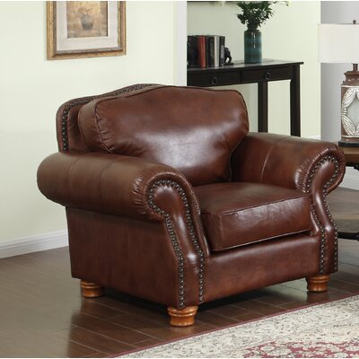 Battista Leather Club Chair