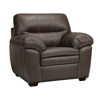 Woodberry Leather Club Chair