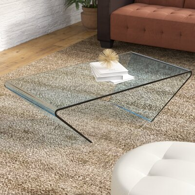 Dillsburg  Coffee Table Color: Clear