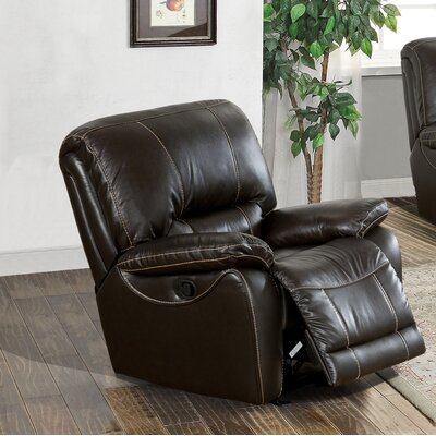 Womble Leather Power Recliner