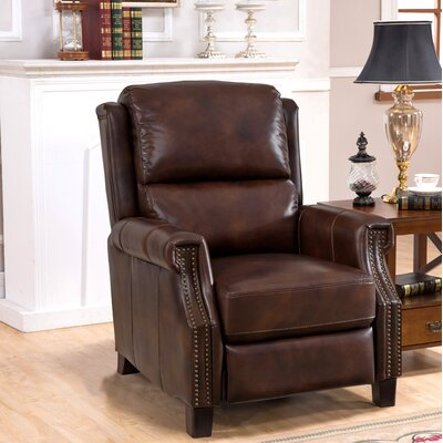 Adler Leather Manual Recliner