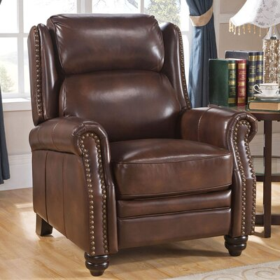 Ahadpour Leather Manual Recliner