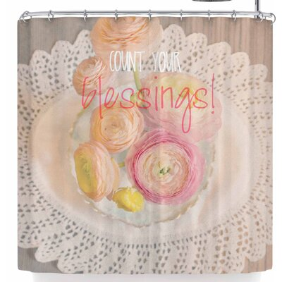 Robin Dickinson Count Your Blessings Ii Shower Curtain