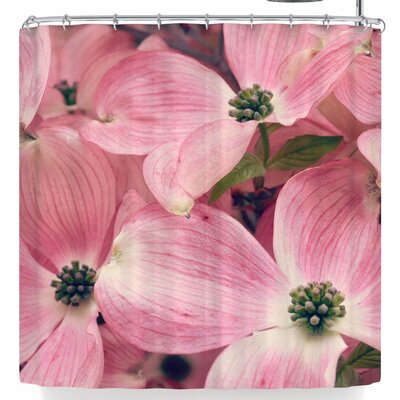 Robin Dickinson Dogwood Shower Curtain