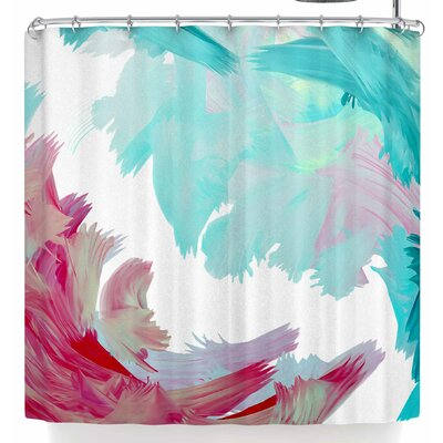 Rosa Picnic Rhodophyta Shower Curtain