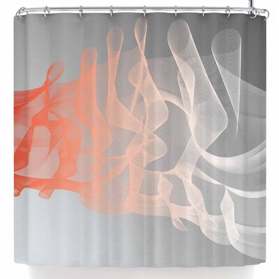 Rosa Picnic Indifference Shower Curtain