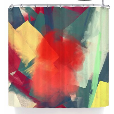 Rosa Picnic Abs-4 Shower Curtain