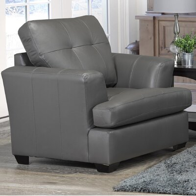 Cowhill Club Chair Upholstery: Light Gray
