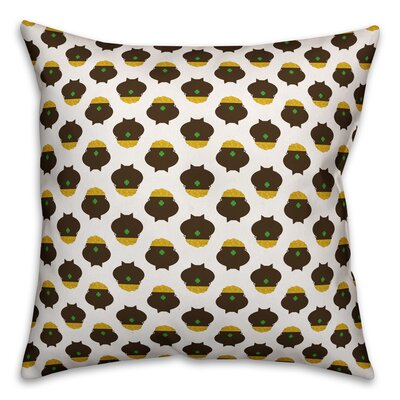 Benites Pots of Gold Throw Pillow