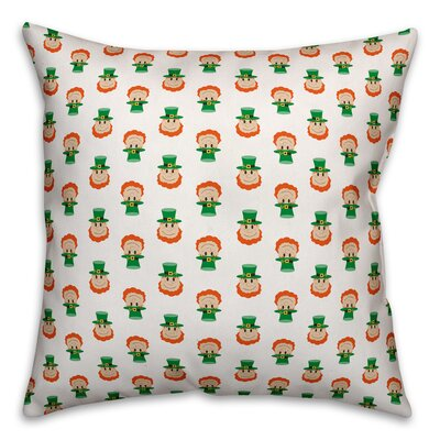 Benites Tiny Leprechaun Throw Pillow