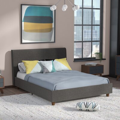 Colonial Place Upholstered Platform Bed Size: Queen