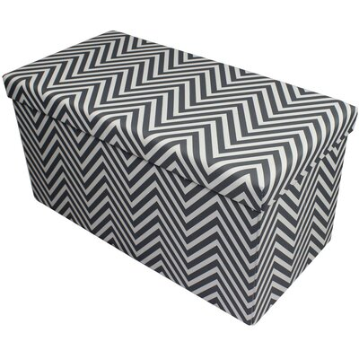 Gilligan Storage Ottoman Finish: Gray