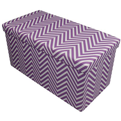 Gilligan Storage Ottoman Finish: Purple
