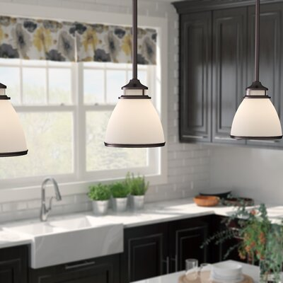 Smyrna 1-Light Mini Pendant Finish: Oil Rubbed Bronze