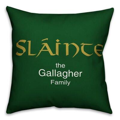 Tuller Slainte Throw Pillow