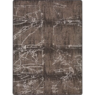 One-of-a-Kind Canup Fractured Hand Woven Brown Area Rug Rug Size: Rectangle 54 x 78