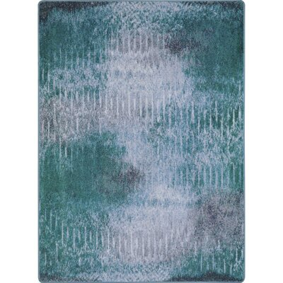 One-of-a-Kind Frazee Hand Woven Green/Gray Area Rug Rug Size: Rectangle 54 x 78