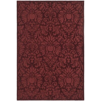 Jonson Hand-Hooked Marine Area Rug Rug Size: Rectangle 8 x 10