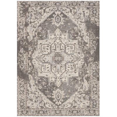 Chenault Gray Area Rug Rug Size: Rectangle 4' x 6'